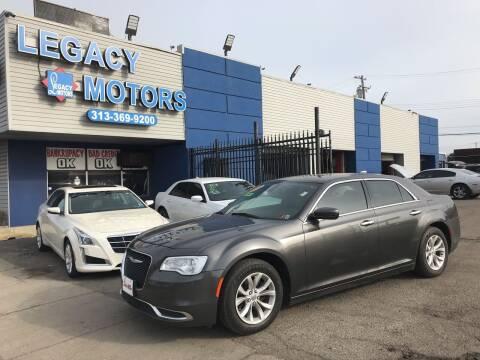 2015 Chrysler 300 for sale at Legacy Motors in Detroit MI