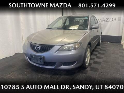 2006 Mazda MAZDA3 for sale at Southtowne Mazda of Sandy in Sandy UT