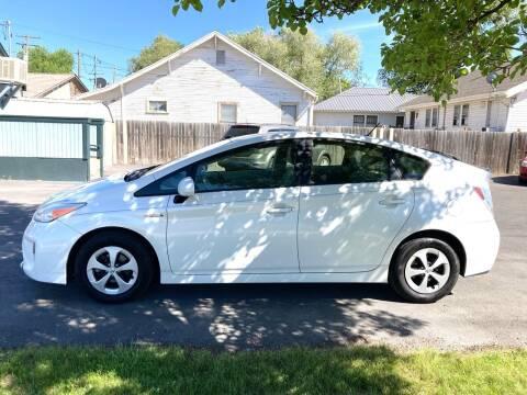 2013 Toyota Prius for sale at University Auto Sales Inc in Pocatello ID