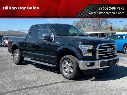 2016 Ford F-150 for sale at Hilltop Car Sales in Knox TN