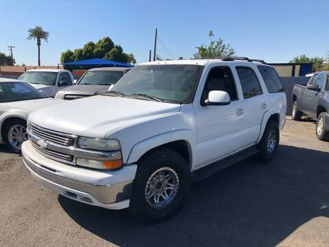 2001 Chevrolet Tahoe for sale at Valley Auto Center in Phoenix AZ