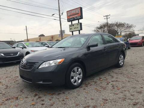 2007 Toyota Camry for sale at Autohaus of Greensboro in Greensboro NC