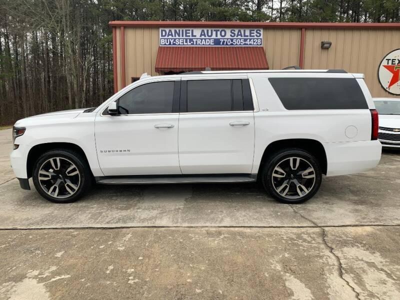 2015 Chevrolet Suburban for sale at Daniel Used Auto Sales in Dallas GA