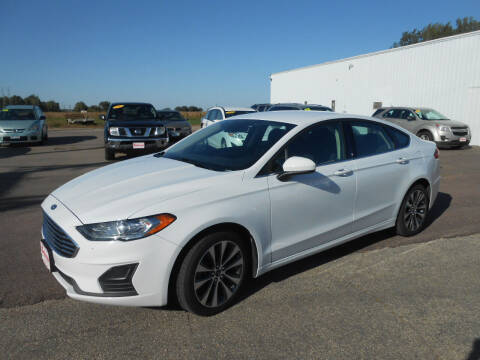 2019 Ford Fusion for sale at Salmon Automotive Inc. in Tracy MN