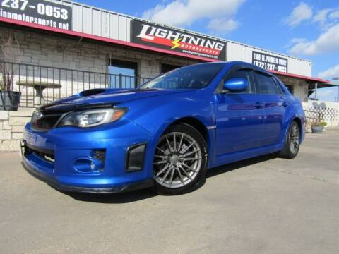 2013 Subaru Impreza for sale at Lightning Motorsports in Grand Prairie TX