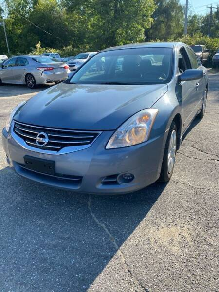 2012 Nissan Altima for sale at Jack Bahnan in Leicester MA