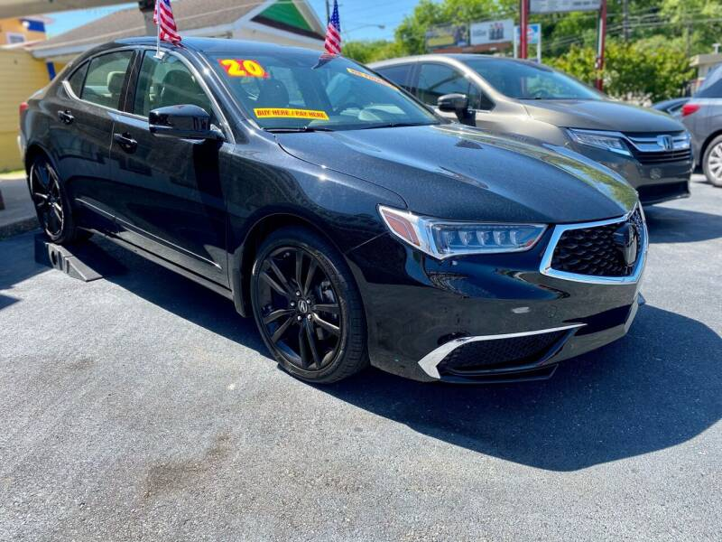 2020 Acura TLX for sale at RPM Motors in Nashville TN