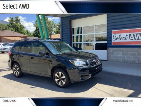 2018 Subaru Forester for sale at Select AWD in Provo UT