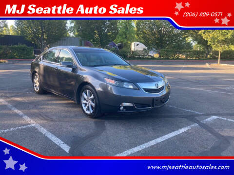 2012 Acura TL for sale at MJ Seattle Auto Sales in Kent WA