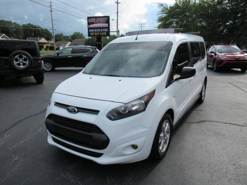 2015 Ford Transit Connect Wagon for sale at Lake County Auto Sales in Painesville OH