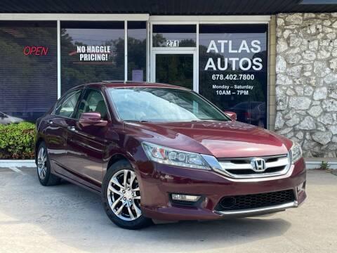 2014 Honda Accord for sale at ATLAS AUTOS in Marietta GA