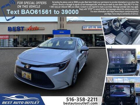 2020 Toyota Corolla for sale at Best Auto Outlet in Floral Park NY