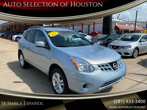 2013 Nissan Rogue for sale at Auto Selection of Houston in Houston TX