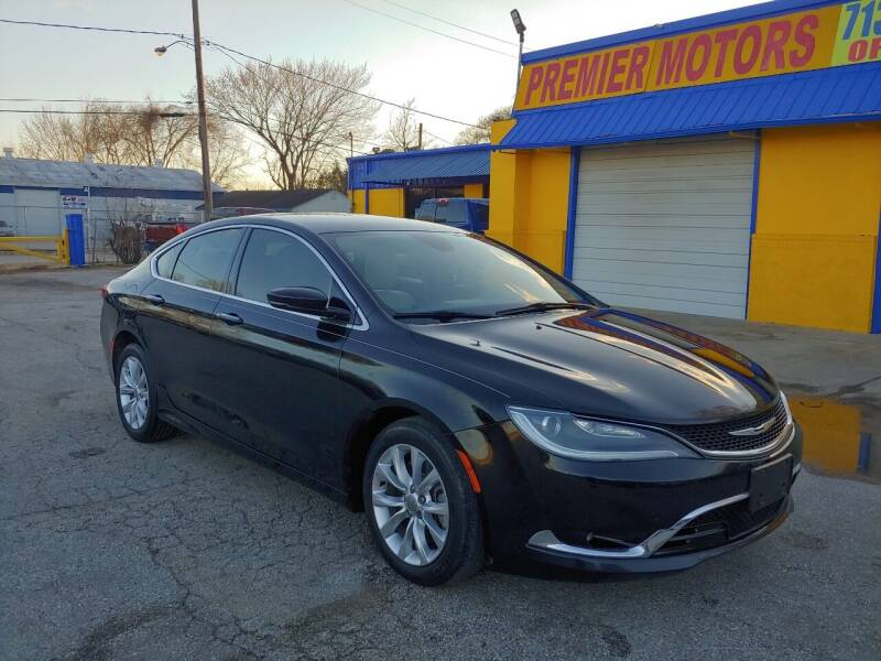 2015 Chrysler 200 for sale at PREMIER MOTORS OF PEARLAND in Pearland TX