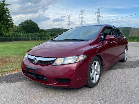 2010 Honda Civic for sale at Tennessee Valley Wholesale Autos LLC in Huntsville AL
