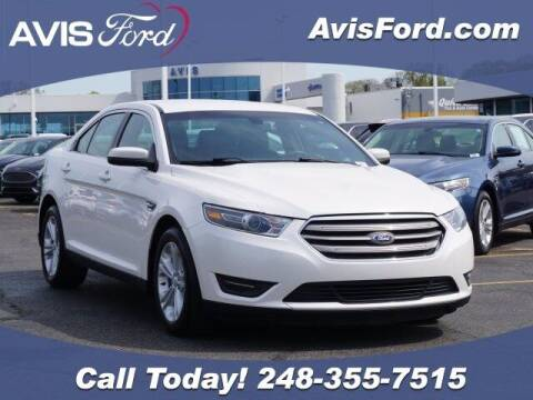2016 Ford Taurus for sale at Work With Me Dave in Southfield MI