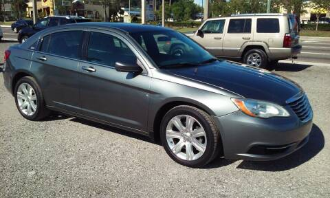 2013 Chrysler 200 for sale at Pinellas Auto Brokers in Saint Petersburg FL