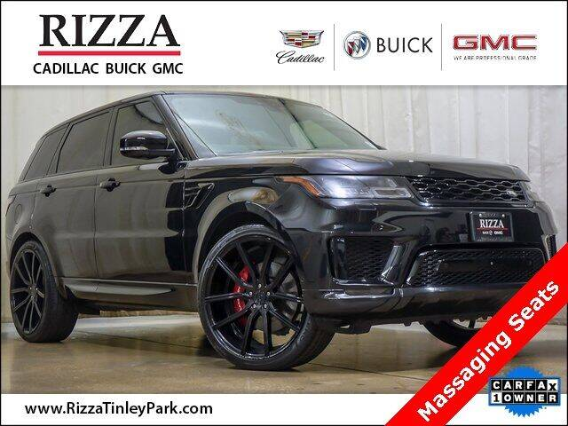 2018 Land Rover Range Rover Sport for sale at Rizza Buick GMC Cadillac in Tinley Park IL