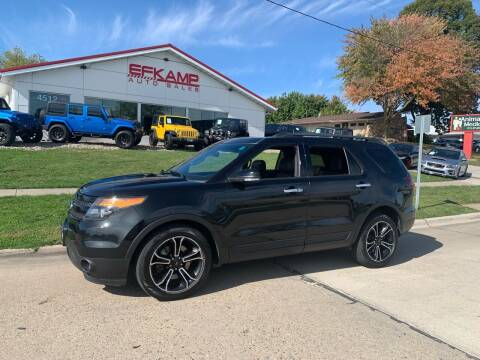 2013 Ford Explorer for sale at Efkamp Auto Sales LLC in Des Moines IA