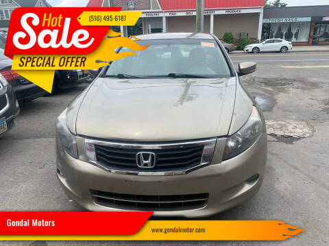 2009 Honda Accord for sale at Gondal Motors in West Hempstead NY