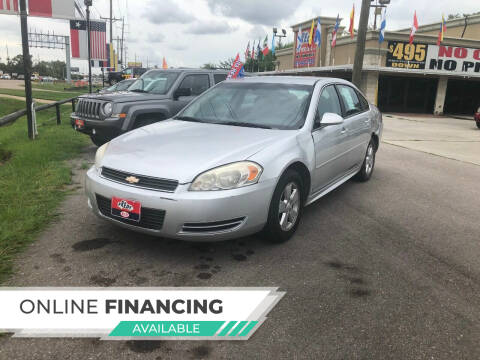 2011 Chevrolet Impala for sale at FREDY CARS FOR LESS in Houston TX