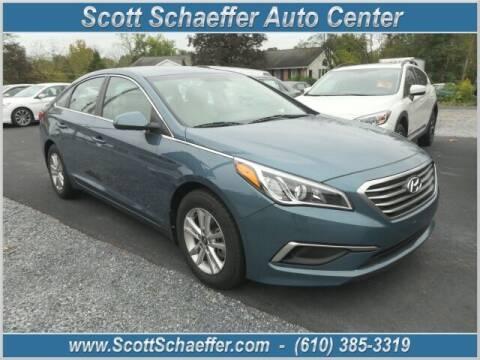 2016 Hyundai Sonata for sale at Scott Schaeffer Auto Center in Birdsboro PA