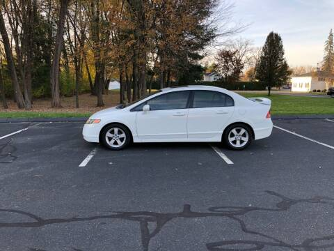 2007 Honda Civic for sale at Chris Auto South in Agawam MA