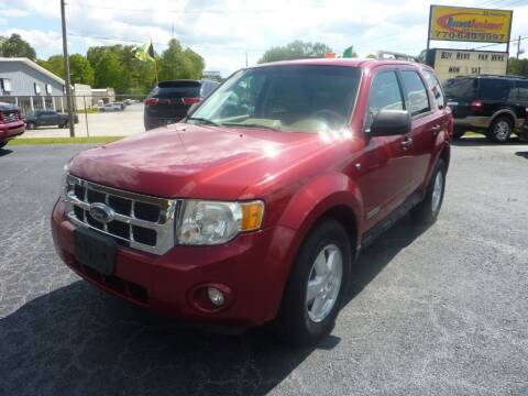 2008 Ford Escape for sale at Roswell Auto Imports in Austell GA