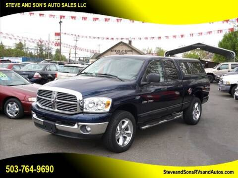 2007 Dodge Ram Pickup 1500 for sale at Steve & Sons Auto Sales in Happy Valley OR