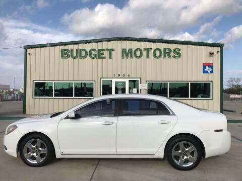2009 Chevrolet Malibu for sale at Budget Motors in Aransas Pass TX