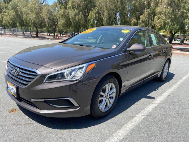 2017 Hyundai Sonata for sale at ALL CREDIT AUTO SALES in San Jose CA