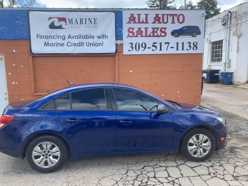 2013 Chevrolet Cruze for sale at Ali Auto Sales in Moline IL