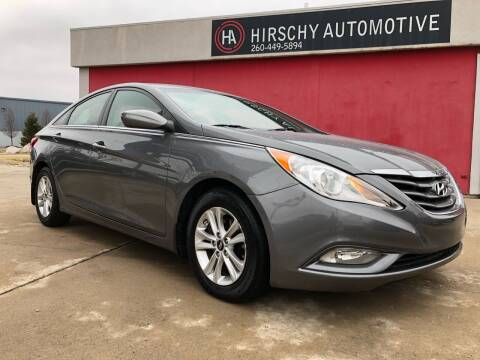 2013 Hyundai Sonata for sale at Hirschy Automotive in Fort Wayne IN