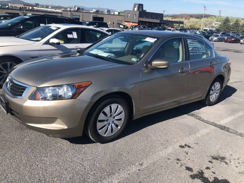 2008 Honda Accord for sale at Boris Auto Sales & Repairs in Harrisonburg VA