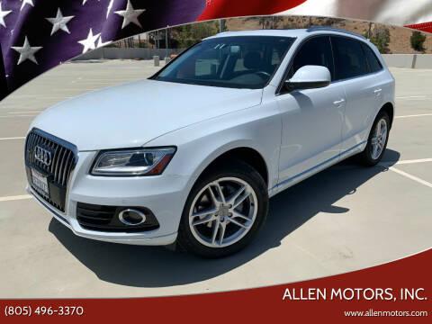 2014 Audi Q5 for sale at Allen Motors, Inc. in Thousand Oaks CA