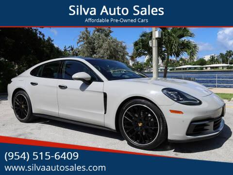 2018 Porsche Panamera for sale at Silva Auto Sales in Pompano Beach FL