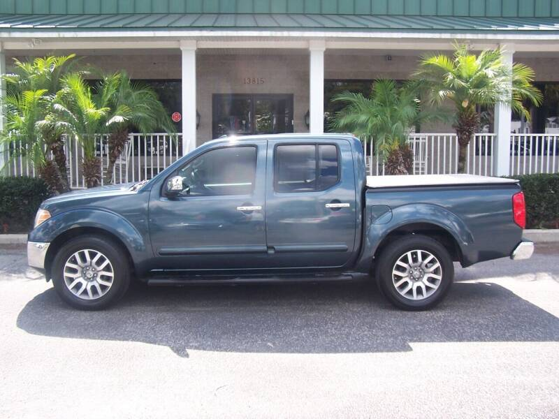 2013 Nissan Frontier for sale at Thomas Auto Mart Inc in Dade City FL