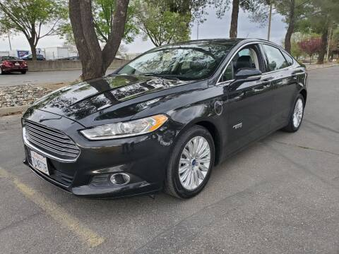 2015 Ford Fusion Energi for sale at Matador Motors in Sacramento CA