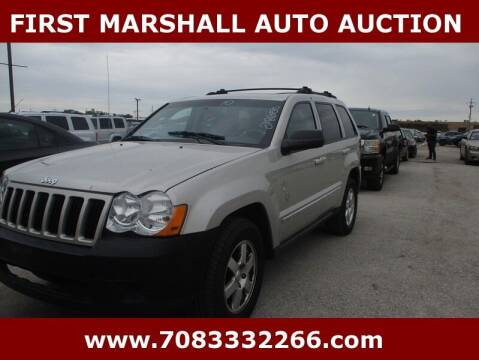 2010 Jeep Grand Cherokee for sale at First Marshall Auto Auction in Harvey IL