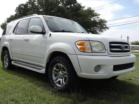 2004 Toyota Sequoia for sale at 123 Car 2 Go LLC in Dallas TX