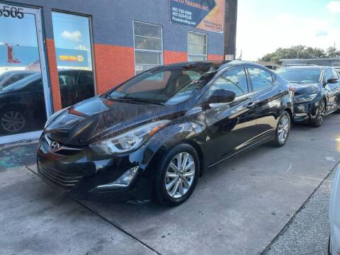 2014 Hyundai Elantra for sale at P J Auto Trading Inc in Orlando FL