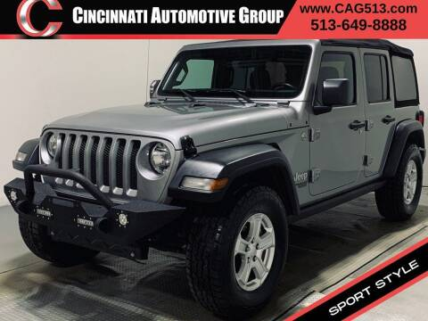 2018 Jeep Wrangler Unlimited for sale at Cincinnati Automotive Group in Lebanon OH