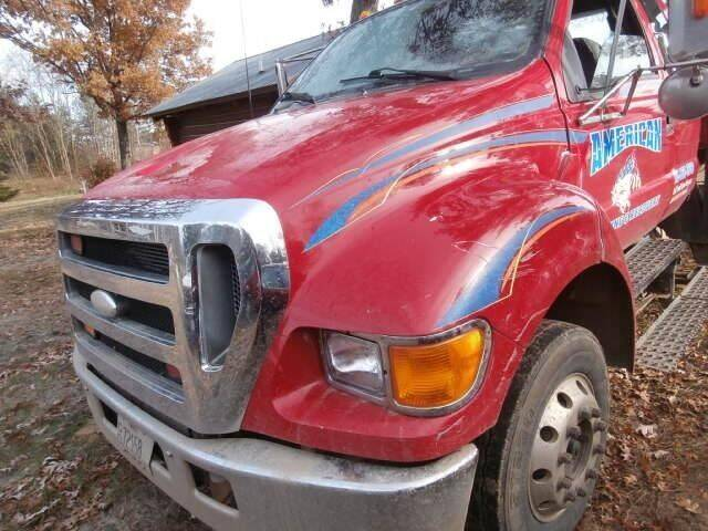 2007 Ford F-650 Super Duty for sale at CousineauCrashed.com in Weston WI