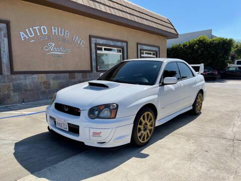 2005 Subaru Impreza for sale at Auto Hub, Inc. in Anaheim CA