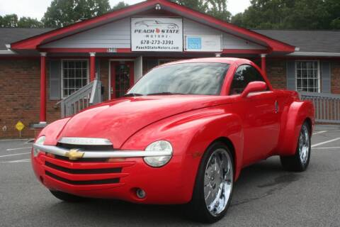 2004 Chevrolet SSR for sale at Peach State Motors Inc in Acworth GA