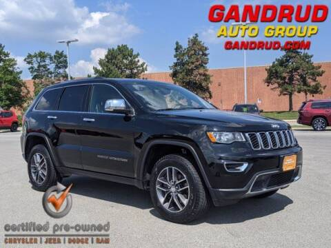 2018 Jeep Grand Cherokee for sale at Gandrud Dodge in Green Bay WI