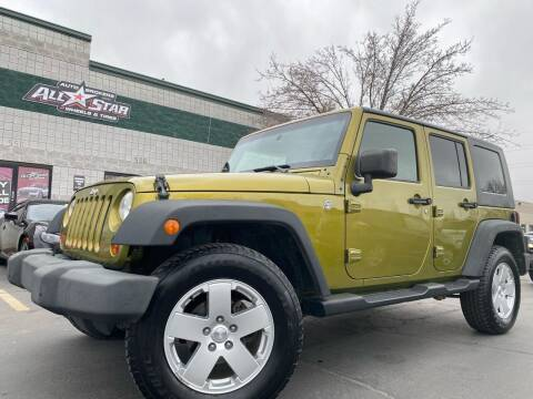 2008 Jeep Wrangler Unlimited for sale at All-Star Auto Brokers in Layton UT