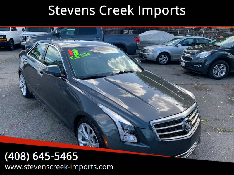 2013 Cadillac ATS for sale at Stevens Creek Imports in San Jose CA
