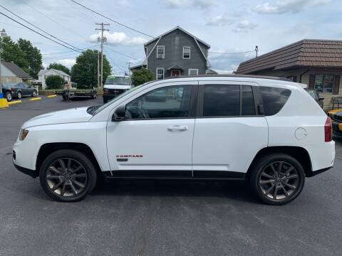 2017 Jeep Compass for sale at MAGNUM MOTORS in Reedsville PA