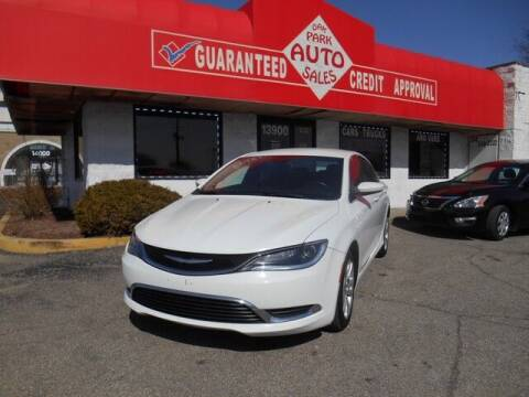 2016 Chrysler 200 for sale at Oak Park Auto Sales in Oak Park MI